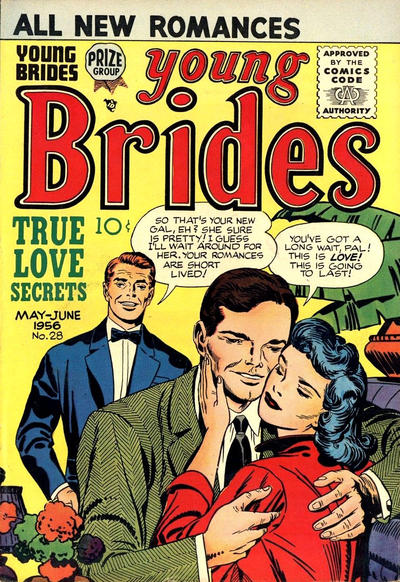 Cover for Young Brides (Prize, 1952 series) #v4#4 (28)