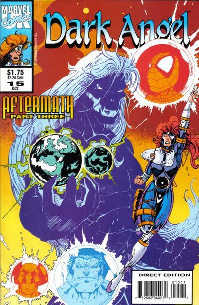 Cover for Dark Angel (Marvel, 1992 series) #15
