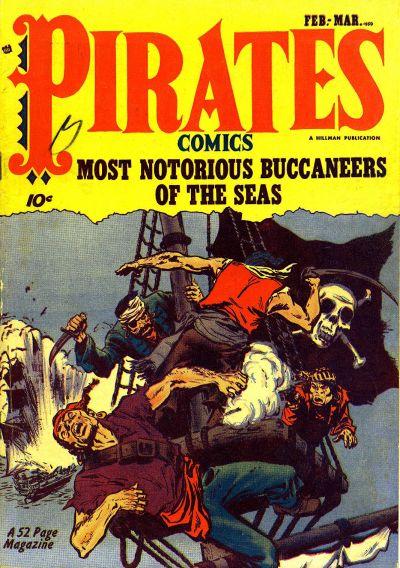 Cover for Pirates Comics (Hillman, 1950 series) #v1#1
