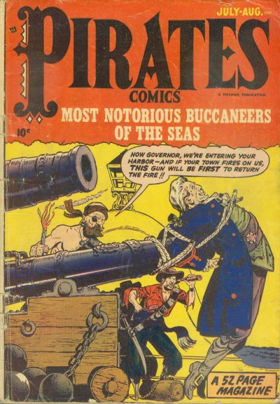 Cover for Pirates Comics (Hillman, 1950 series) #v1#3