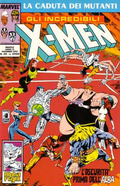Cover for Gli Incredibili X-Men (Edizioni Star Comics, 1990 series) #29