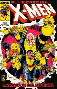 Cover Thumbnail for Gli Incredibili X-Men (Edizioni Star Comics, 1990 series) #42