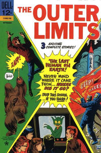 Cover Thumbnail for The Outer Limits (Dell, 1964 series) #15