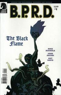 Cover Thumbnail for B.P.R.D., The Black Flame (Dark Horse, 2005 series) #1 (18)