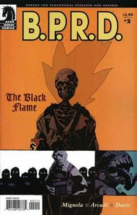 Cover Thumbnail for B.P.R.D., The Black Flame (Dark Horse, 2005 series) #2 (19)