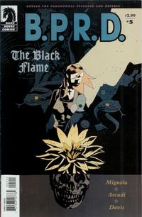 Cover Thumbnail for B.P.R.D., The Black Flame (Dark Horse, 2005 series) #5 (22)