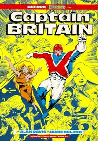 Cover Thumbnail for Captain Britain (Marvel UK, 1988 series)