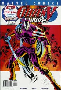 Cover Thumbnail for Citizen V and the V-Battalion (Marvel, 2001 series) #1 [Direct Edition]