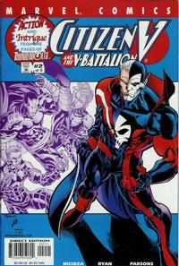 Cover Thumbnail for Citizen V and the V-Battalion (Marvel, 2001 series) #2 [Direct Edition]