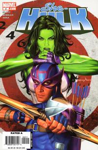 Cover Thumbnail for She-Hulk (Marvel, 2005 series) #2