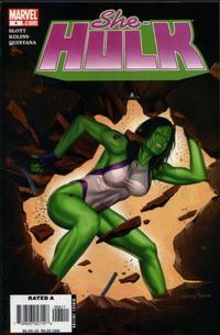 Cover Thumbnail for She-Hulk (Marvel, 2005 series) #4