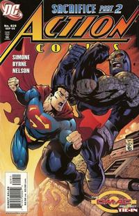 Cover Thumbnail for Action Comics (DC, 1938 series) #829