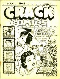 Cover Thumbnail for Crack Comics [ashcan] (Quality Comics, 1940 series) #1