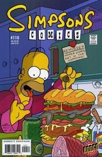 Cover Thumbnail for Simpsons Comics (Bongo, 1993 series) #110