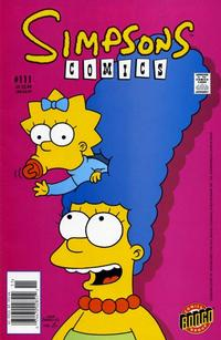 Cover Thumbnail for Simpsons Comics (Bongo, 1993 series) #111