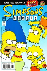Cover Thumbnail for Simpsons Comics (Bongo, 1993 series) #113