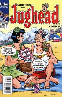 Cover Thumbnail for Archie's Pal Jughead Comics (Archie, 1993 series) #167