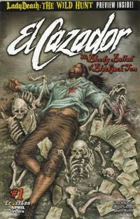 Cover Thumbnail for El Cazador: The Bloody Ballad of Blackjack Tom (CrossGen, 2004 series) #1