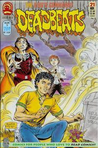 Cover Thumbnail for Deadbeats (Claypool Comics, 1993 series) #21