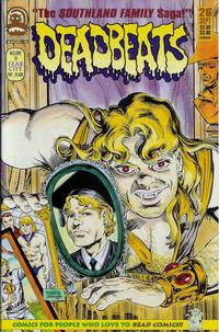 Cover for Deadbeats (Claypool Comics, 1993 series) #26
