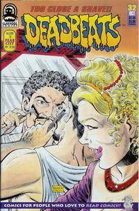 Cover for Deadbeats (Claypool Comics, 1993 series) #32