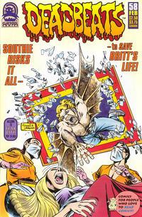 Cover Thumbnail for Deadbeats (Claypool Comics, 1993 series) #58