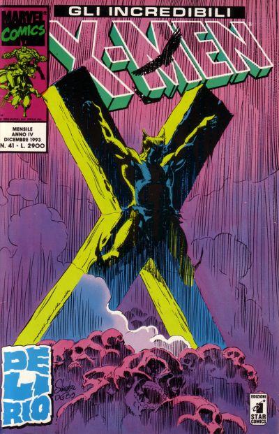 Cover for Gli Incredibili X-Men (Edizioni Star Comics, 1990 series) #41