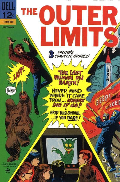 Cover for The Outer Limits (Dell, 1964 series) #15