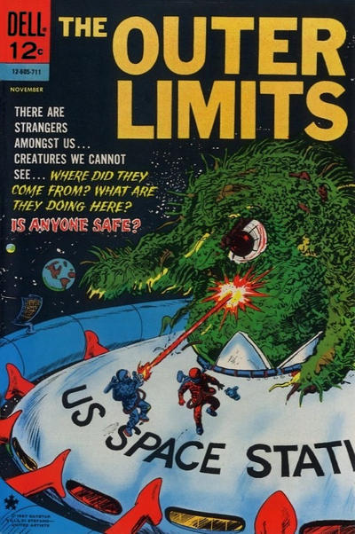 Cover for The Outer Limits (Dell, 1964 series) #16