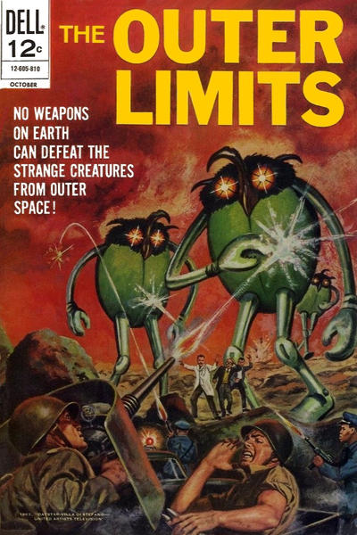 Cover for The Outer Limits (Dell, 1964 series) #17