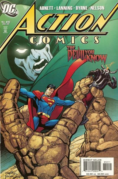 Cover for Action Comics (DC, 1938 series) #832 [Direct Sales]
