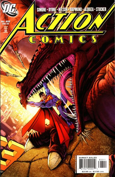 Cover for Action Comics (DC, 1938 series) #833 [Direct Sales]