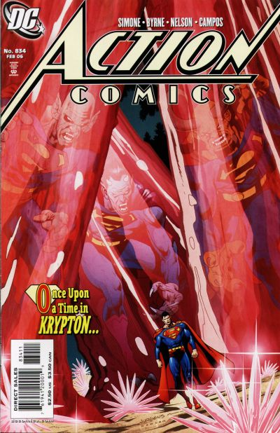 Cover for Action Comics (DC, 1938 series) #834