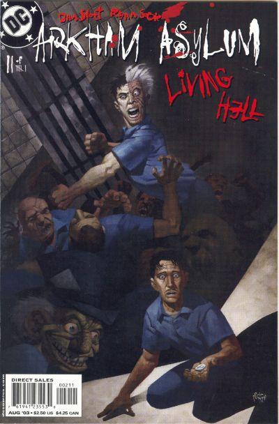 Cover for Arkham Asylum: Living Hell (DC, 2003 series) #2