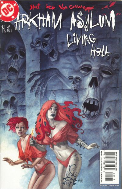 Cover for Arkham Asylum: Living Hell (DC, 2003 series) #5