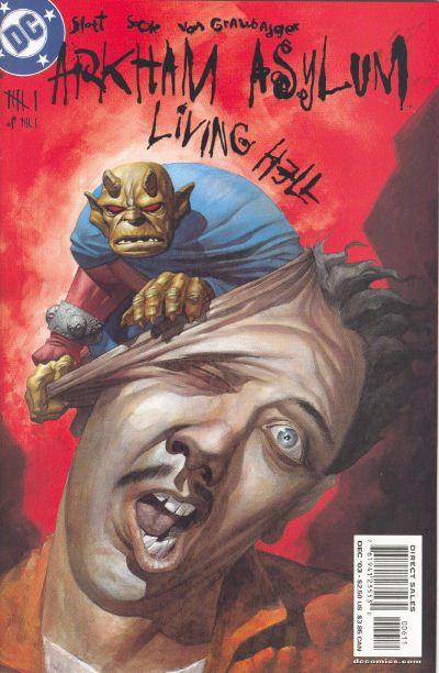 Cover for Arkham Asylum: Living Hell (DC, 2003 series) #6