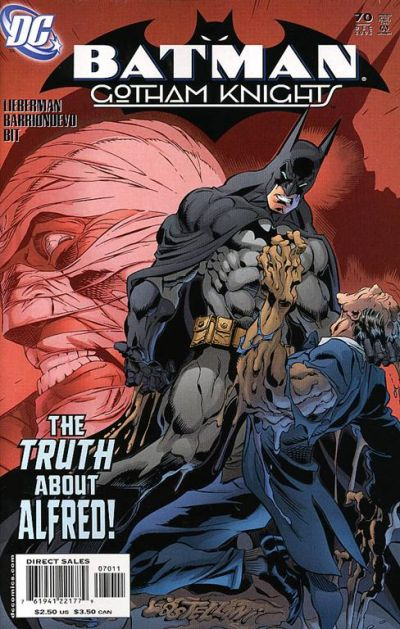 Cover for Batman: Gotham Knights (DC, 2000 series) #70 [Direct]