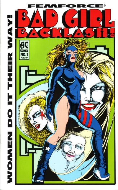 Cover for Bad Girl Backlash! (AC, 1995 series) #1