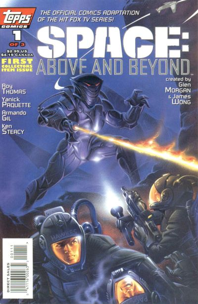 Cover for Space: Above and Beyond (Topps, 1996 series) #1
