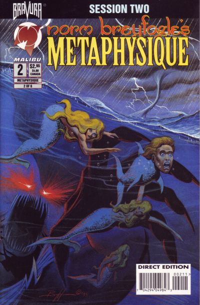 Cover for Metaphysique (Malibu, 1995 series) #2