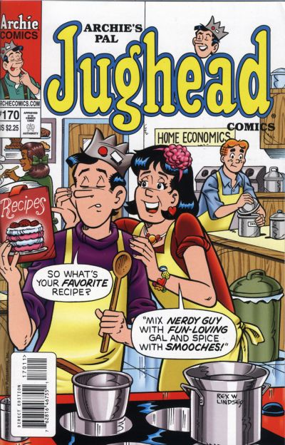 Cover for Archie's Pal Jughead Comics (Archie, 1993 series) #170