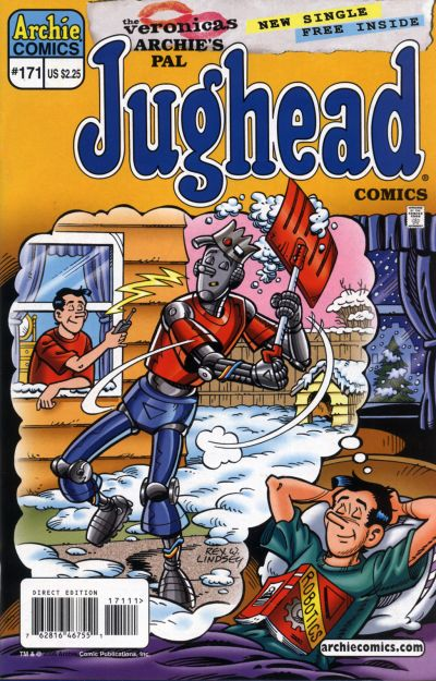 Cover for Archie's Pal Jughead Comics (Archie, 1993 series) #171