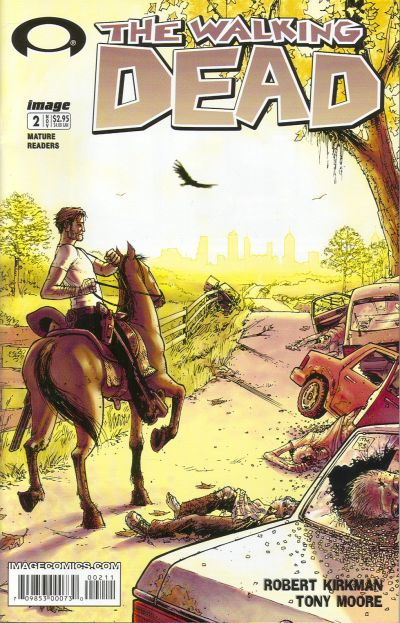 Cover for The Walking Dead (Image, 2003 series) #2