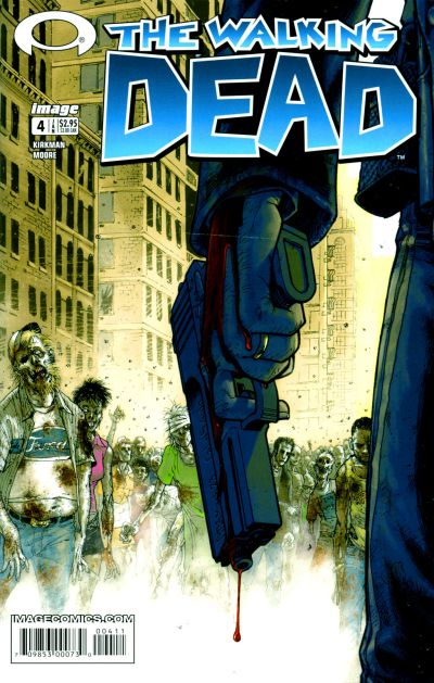 Cover for The Walking Dead (Image, 2003 series) #4