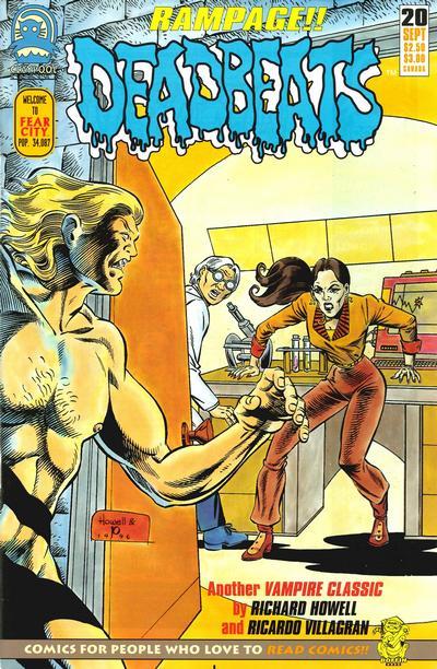 Cover for Deadbeats (Claypool Comics, 1993 series) #20