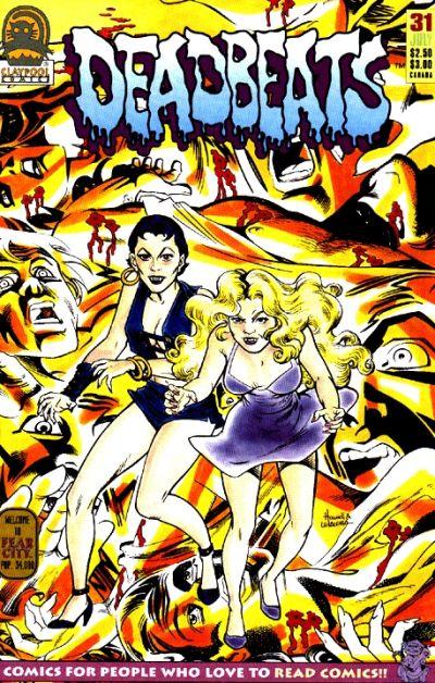 Cover for Deadbeats (Claypool Comics, 1993 series) #31