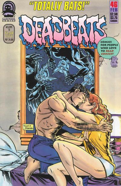 Cover for Deadbeats (Claypool Comics, 1993 series) #46