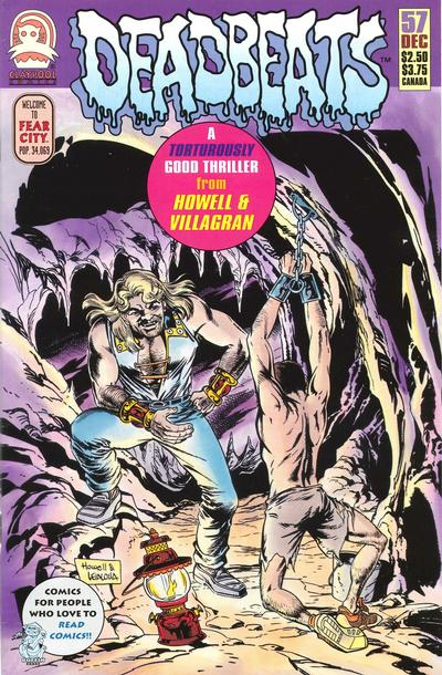 Cover for Deadbeats (Claypool Comics, 1993 series) #57