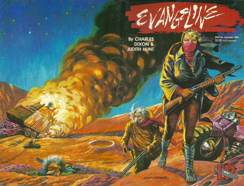 Cover for Evangeline Special (Lodestone, 1986 series) #1