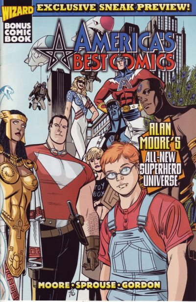 Cover for America's Best Comics Preview (Wizard Entertainment, 1999 series)